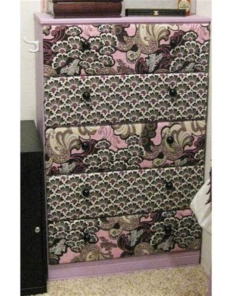 Fabric Covered Drawers by Fabric Covered Drawers Think I Ll Give It A Try Decor Ideas Fabric Covered