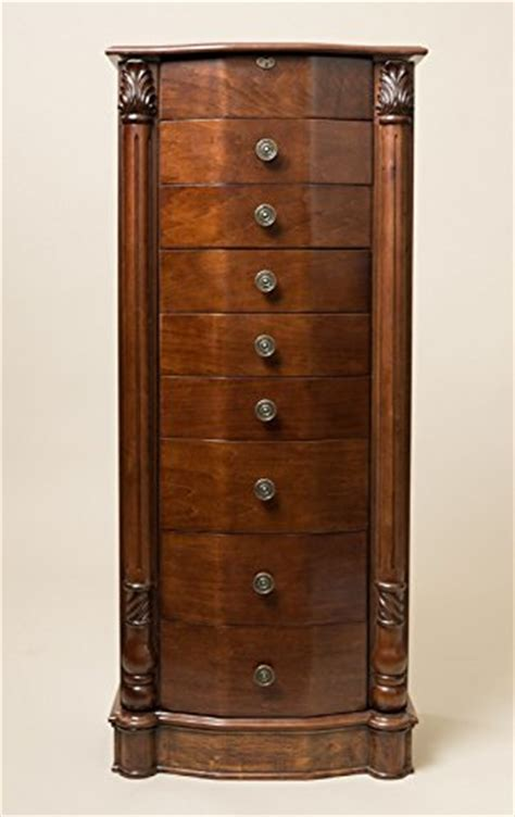 Jewelry Armoire Walnut Standing Mirror by Hives And Honey Henry Iv Walnut Jewelry Armoire Useful