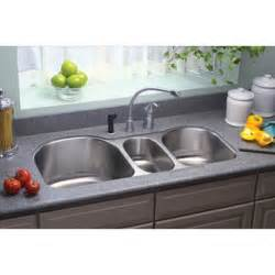 3 Bowl Kitchen Sink Undermount Elkay Eluh3920 Lustertone Bowl Undermount Sink
