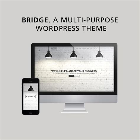 themes wordpress bridge bridge multi purpose wordpress theme