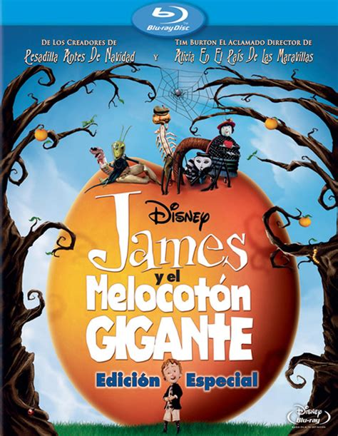 james y el melocoton 8491221298 car 225 tula james y el melocot 243 n gigante blu ray 1080b com