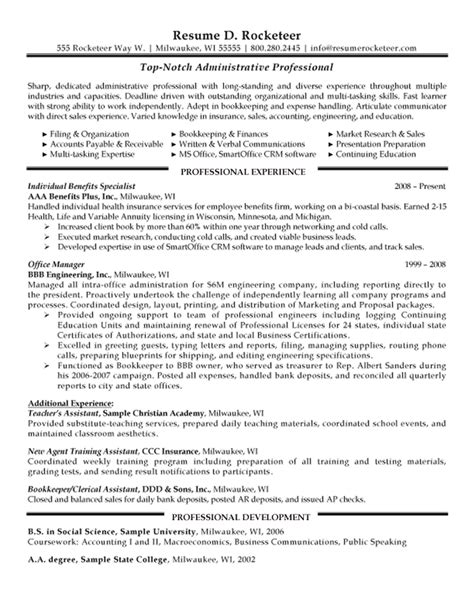 best the benefits of executive assistant resume executive