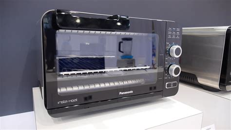Panasonic Toaster Oven Panasonic Debuts New Insta Heat Toaster Ovens Reviewed