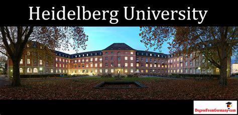 Of Heidelberg Germany Mba by Heidelberg