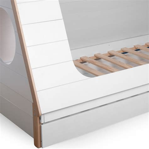 cabin bed with trundle and drawers teepee cabin bed trundle drawer woood cuckooland