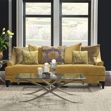 furniture of america sofa reviews viscontti sofa gold furniture of america 5 reviews