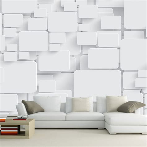abstract wallpaper for living room find more information about wallpaper mural cubes abstract