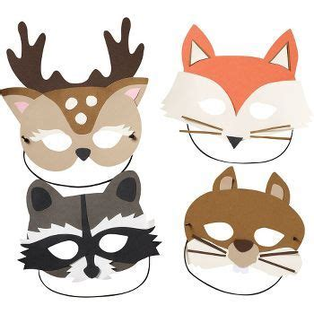 Woodland Animal Mask Templates by The World S Catalog Of Ideas
