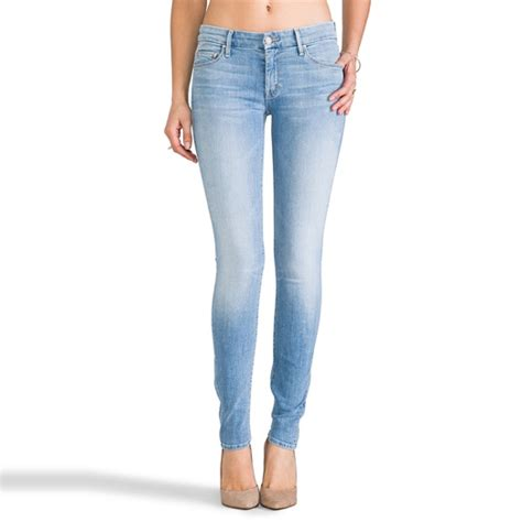 Light Wash Super Skinny Jeans Jean Yu Beauty