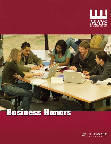 Mays Mba Class Profile by Business Honors Program By Mays Business School Issuu