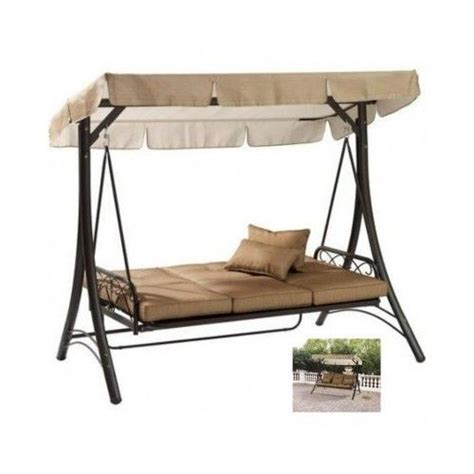 Swing Bed With Canopy Hammock Swing Bed Porch Canopy Sofa Swinging Outdoor Patio