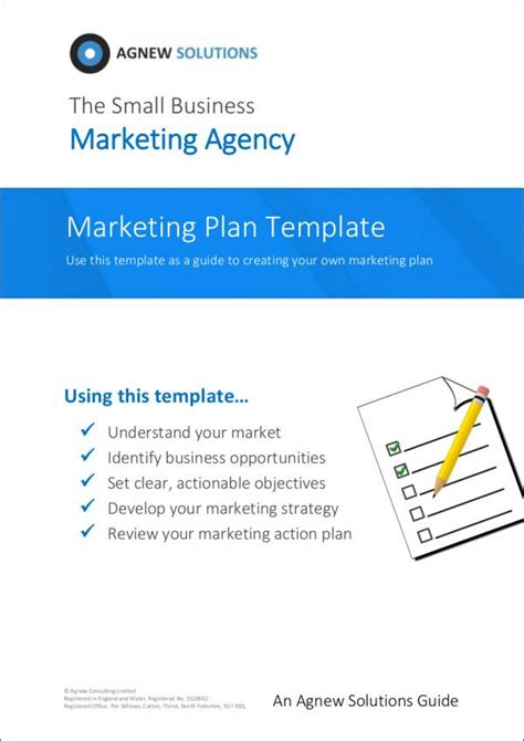 25 Marketing Sles Templates In Pdf Sle Templates Advertising Agency Business Plan Template