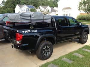 Best Truck Bed Cover 2005 2017 Toyota Tacoma Bed Bars Mobtown Offroad