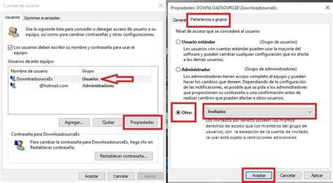quitar imagenes cuenta windows 10 como crear y activar una cuenta de invitado en windows 10