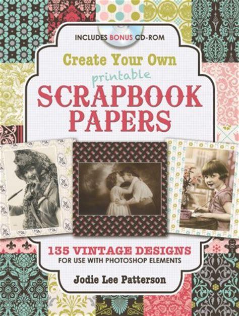 Make Your Own Scrapbook Paper - free printable trumpet sheet free printable