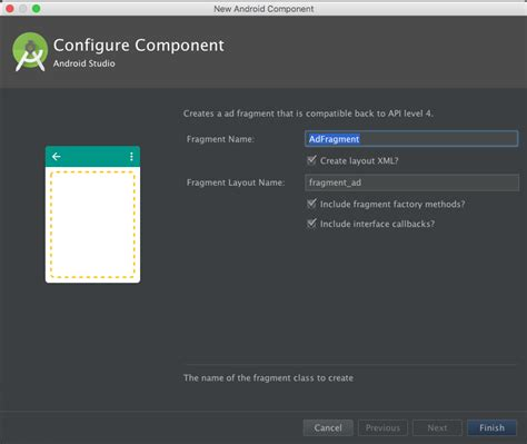 android layout banner bottom github waura adfragmenttemplate android studio template