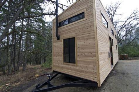 tiny house build couple builds amazing mortgage free modern tiny house