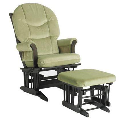 dutailier sleigh glider and ottoman combo dutailier foam round back cushion design sleigh glider