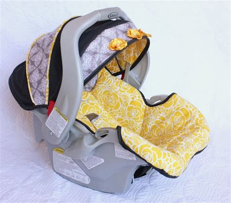 infant car seat slipcover pattern sewing for baby 20 great gear tutorials and patterns