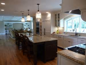 Family Kitchen Design large family kitchen traditional kitchen baltimore by susan