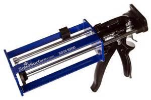 corian adhesive gun solidsurface dripless adhesive dispensing gun ss18