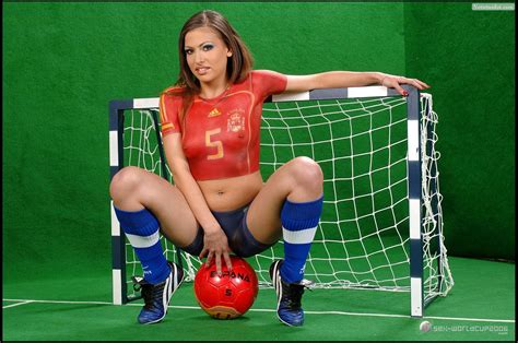 body painting soccer world cup 2015 hottest worldcup fans spain vs holland get more sports