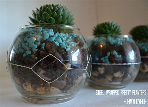 Glass Bowl Planter by Remodelaholic 25 Diy Planter Tutorials