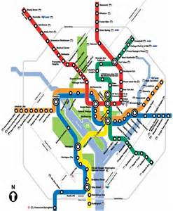 Dc Metro Map Pdf by Washington Dc Metro Map With Attractions Quotes