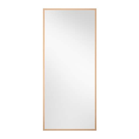 ikea mirrors stave mirror birch effect 27 1 2x63 quot ikea