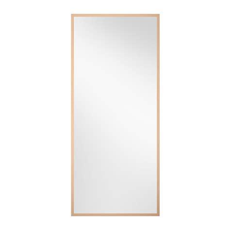 Stave Mirror Birch Effect 27 1 2x63 Quot Ikea