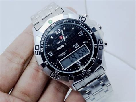 G Shock Dualtime Army jual jam tangan swiss army dualtime 804