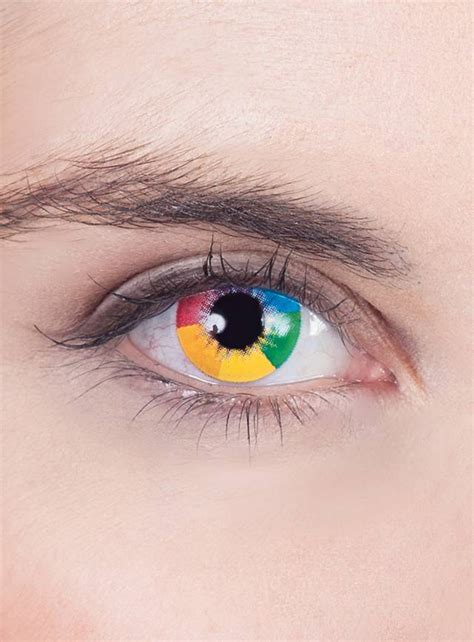 rainbow uv contact lenses maskworldcom
