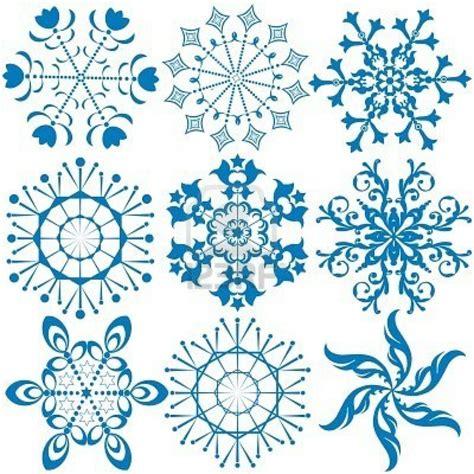 printable blue snowflakes snowflake printables printables pinterest