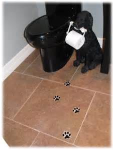Dog Toilet Paper Holder by Decorative Dog Track Ceramic Tile Hand Made Tiles For