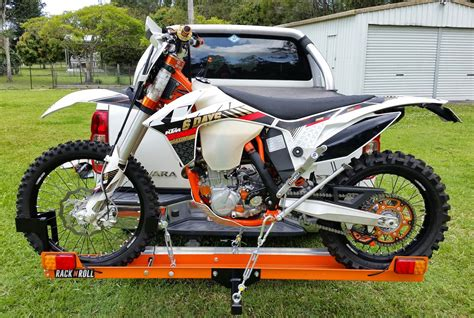 motocross bike carrier rack n roll motorcycle carrier