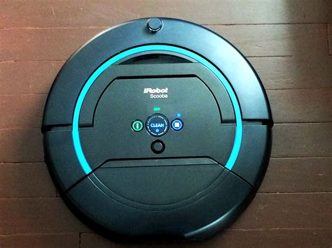 Floor Robot Reviews by Scooba 450 Floor Mopping Robot Review