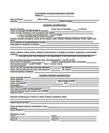 Customer Incident Report Form Template Similiar Customer Incident Report Template Keywords