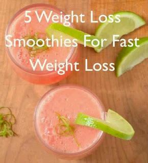 5 weight loss smoothies healthy fast easy weight loss 5 weight loss smoothies