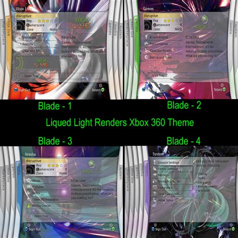 xbox live themes preview knightmanproductions com xbox360 themes gamerpics previews