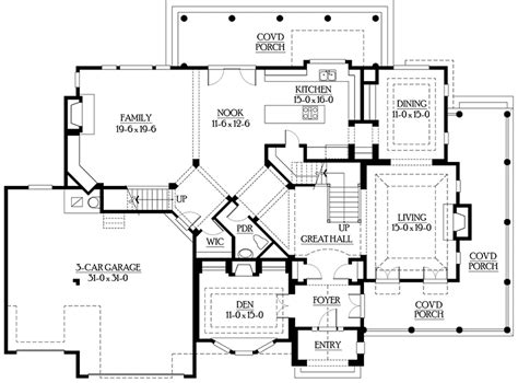 upstairs floor plans back staircase for upstairs 23201jd 2nd floor
