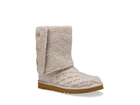 ugg cardy boots ugg lattice cardy boots in beige sand lyst