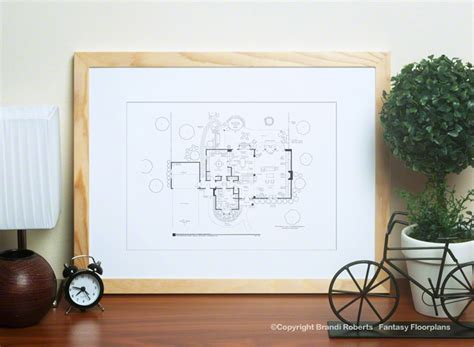 bewitched house floor plan bewitched house floor plan
