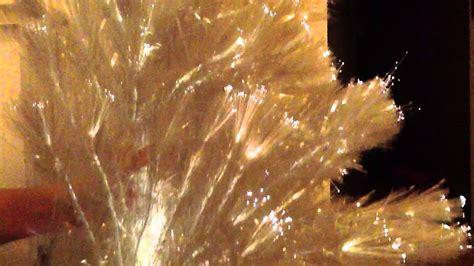 193 rbol de navidad blanco de fibra 243 ptica youtube