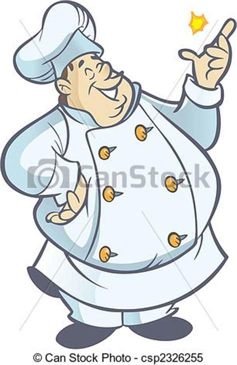 clipart cuoco clipart vettoriali di cuoco paffuto chef cartone