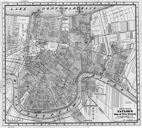 louisiana map collection nopl louisiana map collection
