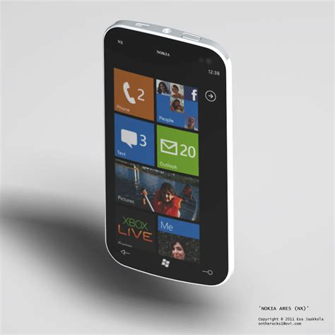 nokia windows phone nokia ares windows phone 7 concept looks solid concept