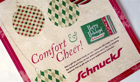 Gift Card Ads - schnucks holiday gift card ad on the aiga member gallery