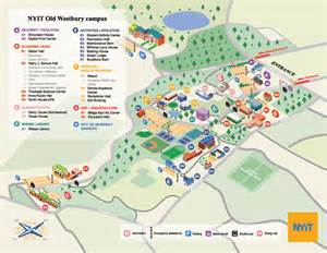 new york institute of technology cus map on behance