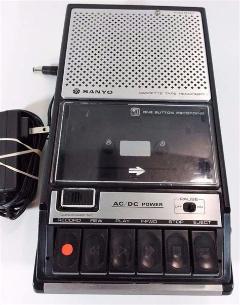 cassette recorder for sale sanyo cassette recorder for sale classifieds