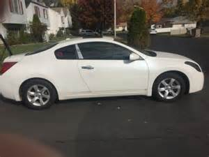 Nissan 2 Door Altima 2008 Nissan Altima S Coupe 2 Door White For Sale On